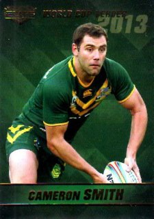 2014 NRL Elite World Cup Heroes #WCH1 Cameron Smith Storm