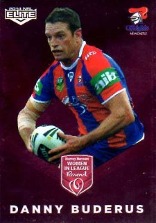 2014 NRL Elite Women in League #WIL3 Danny Buderas Knights