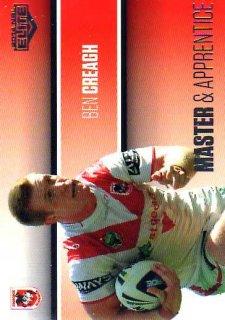 2014 NRL Elite Master & Apprentice #MA25 Ben Creagh Dragons