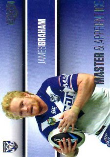 2014 NRL Elite Master & Apprentice #MA3 James Graham Bulldogs
