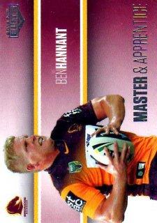 2014 NRL Elite Master & Apprentice #MA1 Ben Hannant Broncos