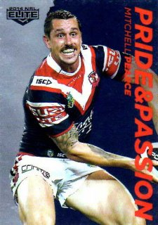 2014 NRL Elite Pride & Passion #PP41 Mitchell Pearce Roosters