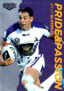 2014 NRL Elite Pride & Passion #PP21 Billy Slater Storm