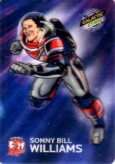 2014 NRL Traders Album Galactic Stars #AGS16 Sonny Bill Williams Roosters