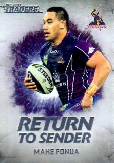 2014 NRL Traders Return to Sender #RTS13 Mahe Fonua Storm