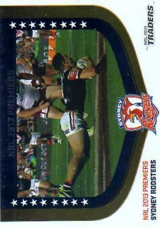 2014 NRL Traders Season to Remember #SR2013/43 Sydney Roosters