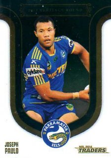 2014 NRL Traders Season to Remember #SR2013/34 Joseph Paulo Eels