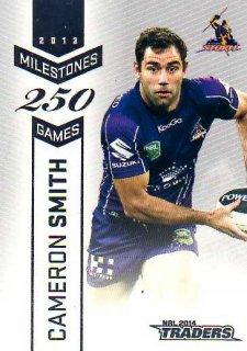 2014 NRL Traders Milestones #M7 Cameron Smith Storm