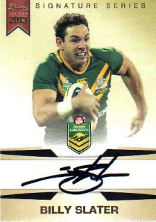 2013 NRL Limited Edition Signature Series SS1 Billy Slater Australia #34/167