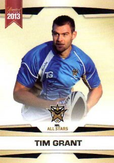 2013 NRL Limited Edition #29 Tim Grant Panthers NRL All Stars