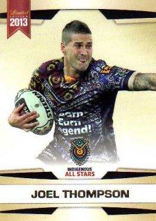 2013 NRL Limited Edition #27 Joel Thompson Raiders Indigenous All Stars