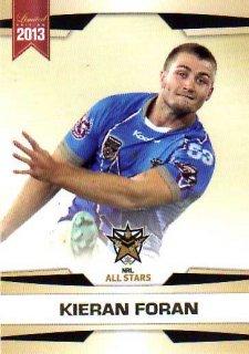 2013 NRL Limited Edition #28 Kieran Foran Sea Eagles NRL All Stars