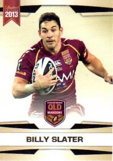 2013 NRL Limited Edition #20 Billy Slater Storm QLD
