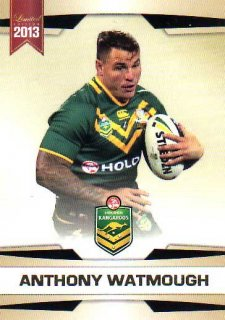 2013 NRL Limited Edition #5 Anthony Watmough Sea Eagles Australia