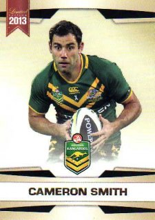 2013 NRL Limited Edition #3 Cameron Smith Storm Australia