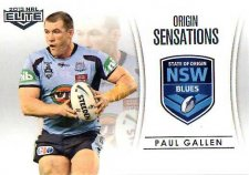 2013 NRL Elite Case Card #OS1 Paul Gallen Sharks NSW