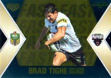 2013 NRL Elite Fast & Furious GOLD #FFS10 McKendry / Tighe Panthers