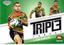 2013 NRL Elite Triple Threats TT35 Adam Reynolds Rabbitohs