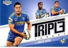 2013 NRL Elite Triple Threats TT25 Jarryd Hayne Eels