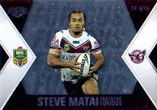 2013 NRL Elite Fast & Furious #FF6 Matai / Taufua Sea Eagles