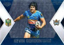 2013 NRL Elite Fast & Furious #FF5 James / Gordon Titans