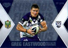 2013 NRL Elite Fast & Furious #FF2 Eastwood / Morris Bulldogs