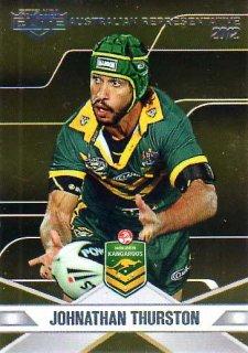 2013 NRL Elite Australian Representative AR17 Johnathan Thurston Cowboys Australia