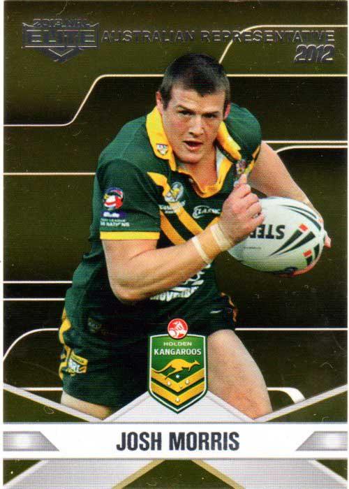 2013 NRL Elite Australian Representative AR10 Josh Morris Bulldogs Australia