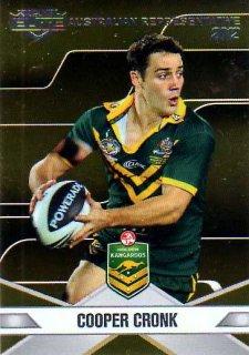 2013 NRL Elite Australian Representative AR4 Cooper Cronk Storm Australia
