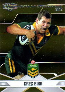 2013 NRL Elite Australian Representative AR2 Greg Bird Titans Australia
