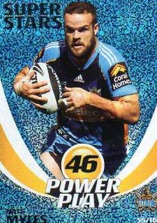 2014 NRL Power Play Super Stars #S5 Nate Myles Titans