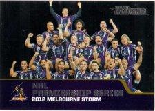 2013 NRL Traders Premierships #P13 2012 Melbourne Storm