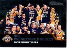 2013 NRL Traders Premierships #P8 2005 Wests Tigers