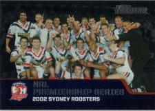 2013 NRL Traders Premierships #P5 2002 Sydney Roosters