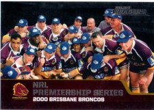 2013 NRL Traders Premierships #P3 2000 Brisbane Broncos