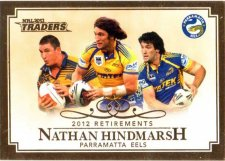 2013 NRL Traders Retirements #R5 Nathan Hindmarsh Eels