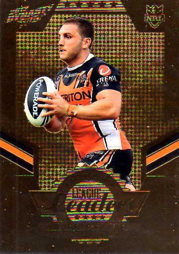 2012 NRL Dynasty Gold League Leader LLG16 Robbie Farah Tigers #140/150