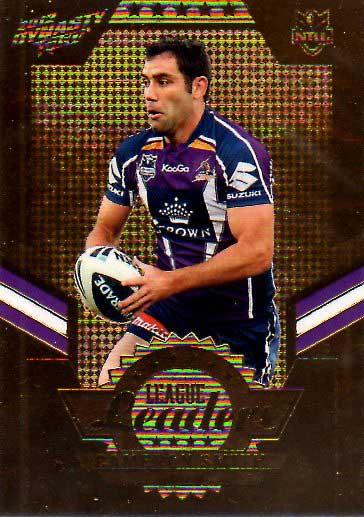 2012 NRL Dynasty Gold League Leader LLG7 Cameron Smith Storm #81/150