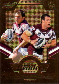 2012 NRL Dynasty Gold League Leader LLG6 Lyon / King Sea Eagles #35/150