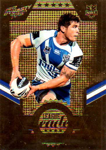 2012 NRL Dynasty Gold League Leader LLG3 Michael Ennis Bulldogs #33/150