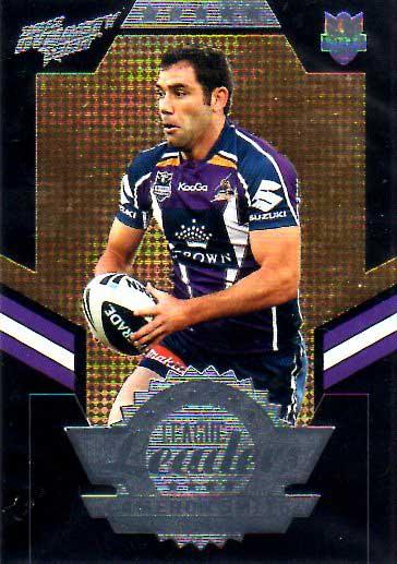 2012 NRL Dynasty Black League Leader LLB7 Cameron Smith Storm #25/50