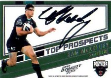 2012 NRL Dynasty Top Prospects Signature TPS10 Sam McKendry Panthers #224/300