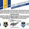 2012 NRL Dynasty Top Prospects Signature TPS10 Taniela Lasalo Eels #12/300