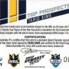 2012 NRL Dynasty Top Prospects Signature TPS9 Tariq Sims Cowboys #4/300