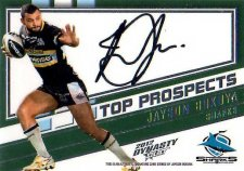 2012 NRL Dynasty Top Prospects Signature TPS4 Jason Bukuya Sharks #225/300