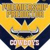 2012 NRL Dynasty Top Try Scorer #TT9 Ashley Graham Cowboys with Redeemed Predictor