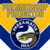 2012 NRL Dynasty Top Try Scorer #TT10 Ken Sio Eels with Redeemed Predictor