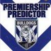 2012 NRL Dynasty Top Try Scorer #TT3 Ben Barba Bulldogs with Redeemed Predictor