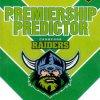 2012 NRL Dynasty Top Try Scorer #TT2 Croker / Robinson Raiders with Redeemed Predictor