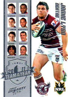 2012 NRL Dynasty TOTY #TY3 Jamie Lypn Sea Eagles